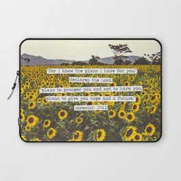 Jeremiah Sunflowers Laptop Sleeve