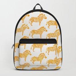 Zebras – Yellow Palette Backpack