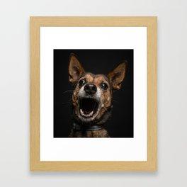 Happy Face Framed Art Print