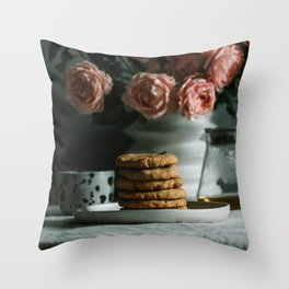 English breakfast Art Print Throw Pillow
