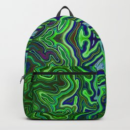 Abstract #1 - VII - Electric Light Orchestra Backpack