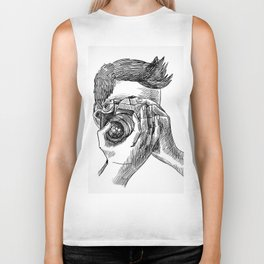 Photographer sketch portrait Biker Tank