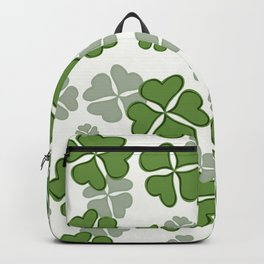 My Lucky Shamrocks I Backpack