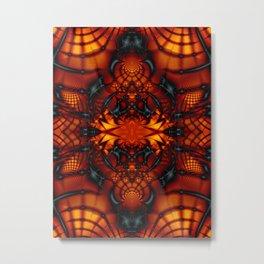 Fractal Art - Devil I Metal Print