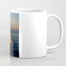 Glowing Rock Stacks Coffee Mug