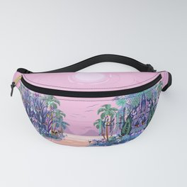 The Eyes of the Enchanted Misty Forest Fanny Pack