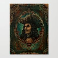 hook Canvas Prints featuring Hook by ManuelDA