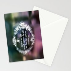 Through a glass, darkly . . . Stationery Cards