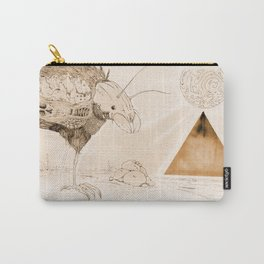 Wasteland of Dreams Carry-All Pouch