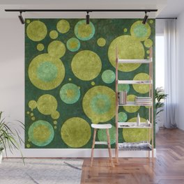 """""""Retro Party Glitter Dots"""" Wall Mural"""