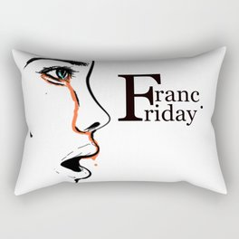 Franc Friday - When You See It Rectangular Pillow