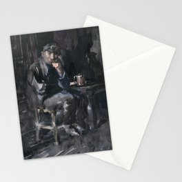 David Parrish Interior of a Tavern , George Luks Stationery Cards