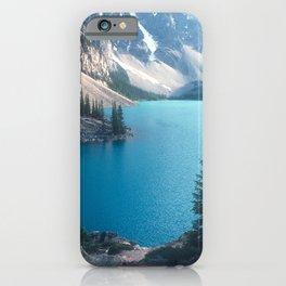 Canadian Serenity: Moraine Lake iPhone Case