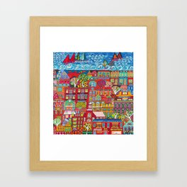 Lakewood Painted Framed Art Print