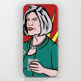 Malory Archer Lichtenstein iPhone Skin