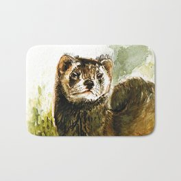 European Polecat Bath Mat