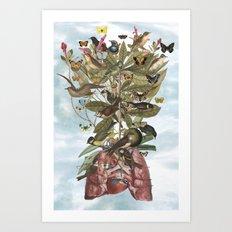 Tsatina Art Print