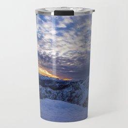 Winter Sunrise Travel Mug