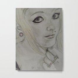 Scene Girl - Krista Rae Metal Print