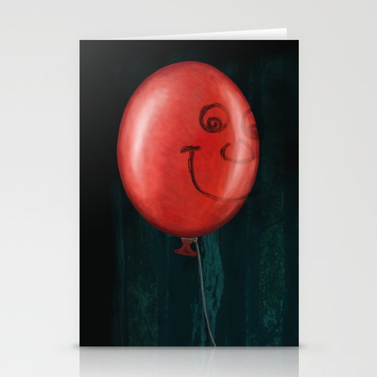 The Boy and the Balloon Stationery Cards