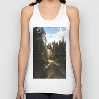 forrest Tank Tops featuring My Forrest by Plutonian Oatmeal
