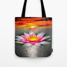 Wellness Water Lily 5 Tote Bag