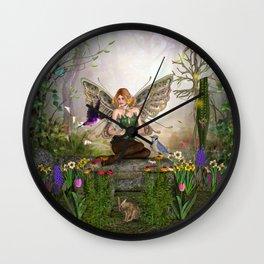 Awakening Spring Wall Clock