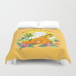 The Buddhist Monk Duvet Cover