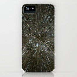 zooming towards stars iPhone Case