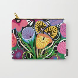 Yelapa Flowers Carry-All Pouch