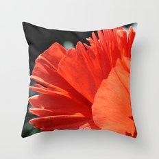 Poppy - Side Throw Pillow
