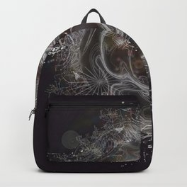 When Worlds Collide-Abstract Universe Backpack