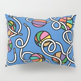 Basketball & Laces - sports, 80s, 90s, nineties, eighties, memphis design,memphis milano Pillow Sham