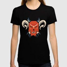 Kuker Evil Monster Mask T-shirt