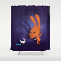 easter Shower Curtains featuring easter by Laurel