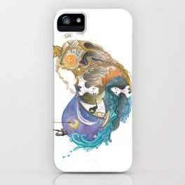 Love Story That Repeats Itself Throughout Time iPhone Case