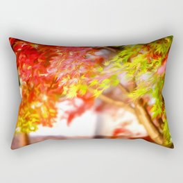 Leaves Autumn Art Rectangular Pillow