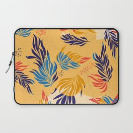 Primary Colors Leaves Laptop Sleeve