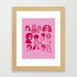 Babes of Summer Framed Art Print