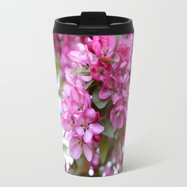 Deep pink blossom Travel Mug