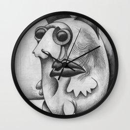 Pulga #48 de Jean Michel Basquiat estilo Corleone Wall Clock