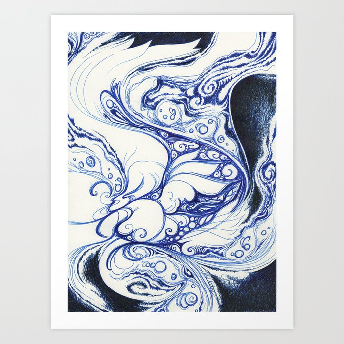 Dreaming and Becoming Art Print
