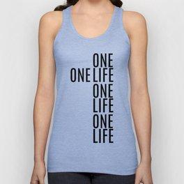One Life Unisex Tank Top