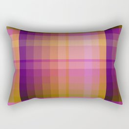 Complimentary Color harmony yellow/purple 2 Rectangular Pillow