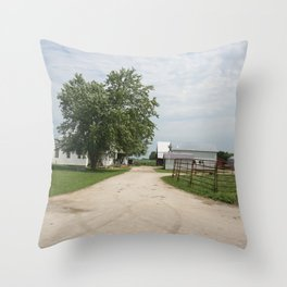 PASTEL BLUE Throw Pillow