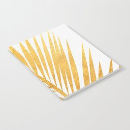 Golden leaf III Notebook