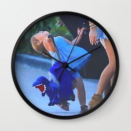 Baby oh Wall Clock