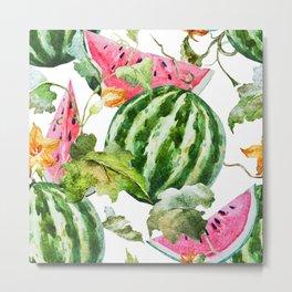 Melon Pattern 04 Metal Print