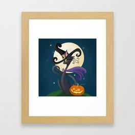 Halloween Night Magic Framed Art Print
