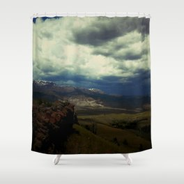 Storm Creeping into South Fork Shower Curtain